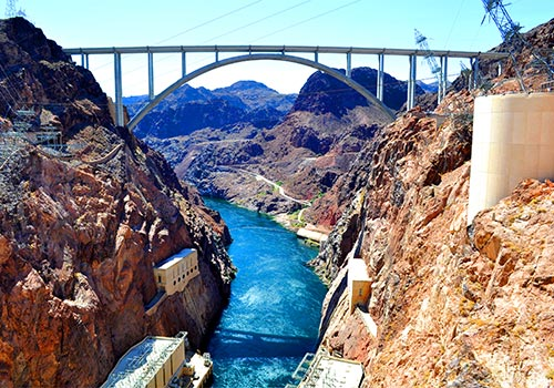 "Mike O'Callaghan–Pat Tillman Memorial Bridge -  Hoover Dam ""VIP"" Tour in Las Vegas, Nevada"