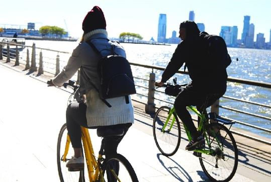 Hudson River Bike Rentals in New York, New York