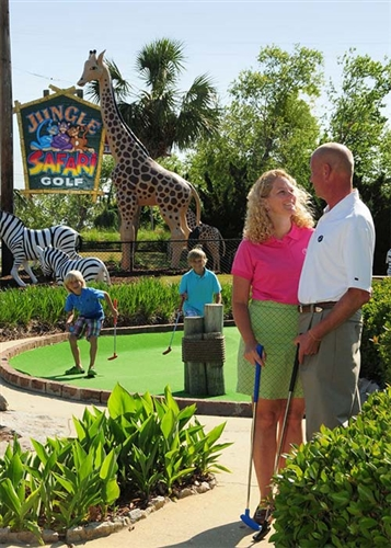 Play all day at Jungle Safari Golf in Myrtle Beach, South Carolina