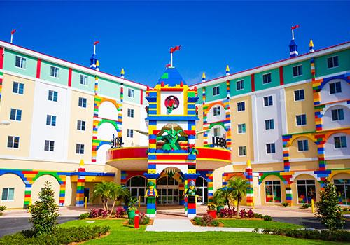 LEGOLAND Hotel at LEGOLAND Florida Resort allows children to fully immerse themselves in the world of LEGO!