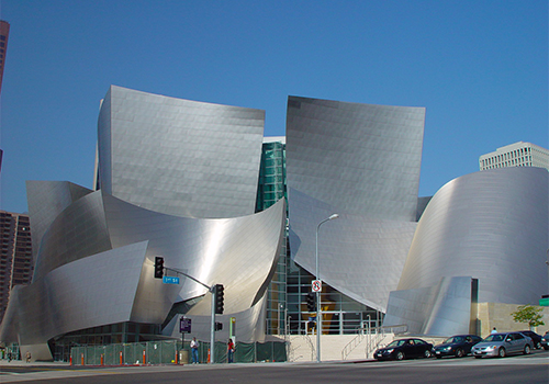 Disney Music Hall - L.A. City, Movie Stars' Homes & Beach Tour from Anaheim in Hollywood, California