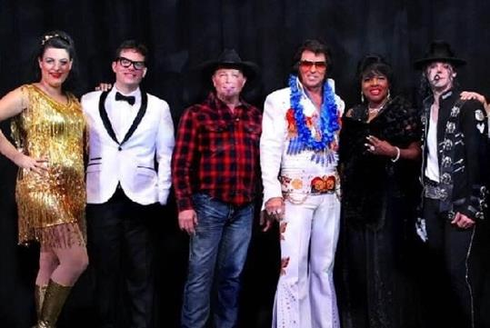 Pigeon Forge Shows - Theatre of The Stars Legendary Superstars