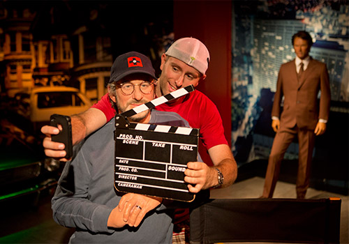 Madame Tussauds San Francisco with Steven Spielberg - Madame Tussauds San Francisco + The San Francisco Dungeon Combo in San Francisco , California