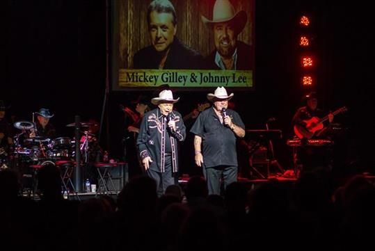 Mickey Gilley & Johnny Lee, Urban Cowboy Reunion in Branson, MO