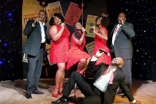 The Motown Cast Is So Fun not only with they entertain your with their amazing voices and harmonies but you will love the fun parts of the show too.