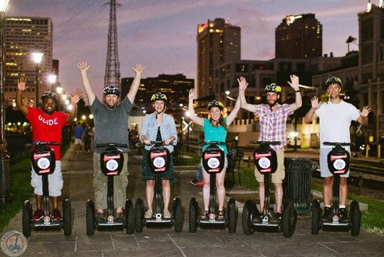 New Orleans Evening Segway Tour in New Orleans, LA