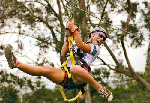 NorthShore Zipline Canopy Tours in Haiku, Hawaii