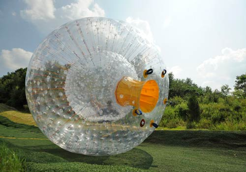 Outdoor Gravity Park Zorbing Pigeon Forge Tn Tripster