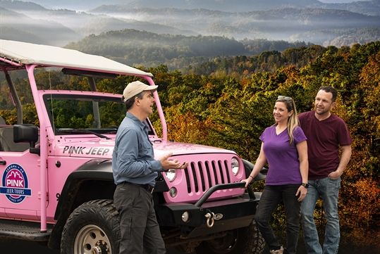 Foothills Parkway - Pink Jeep Tours in Pigeon Forge, Tennessee