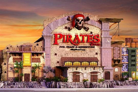 Pirates Voyage Dinner & Show in Pigeon Forge, TN