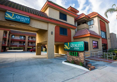 Exterior -Quality Inn Downey in Downey, California