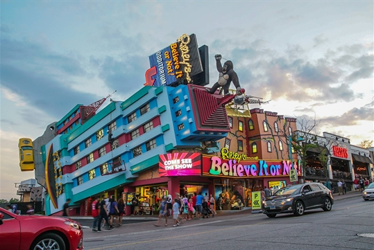 Ripley's Believe It or Not! Odditorium in Niagara Falls, Ontario