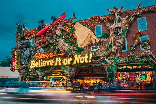 Ripley's Believe It or Not! in Gatlinburg, Tennessee