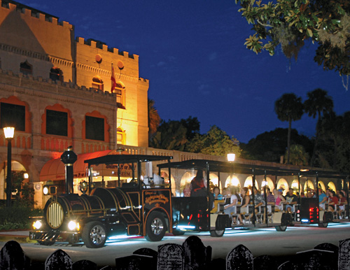 The Ghost Train Adventure is the most interactive paranormal experience in St. Augustine