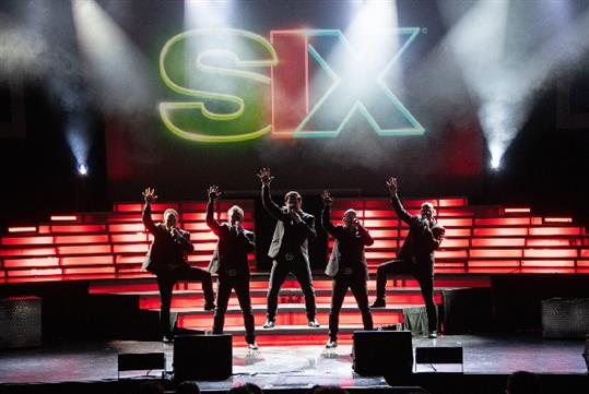 Six at Dick Clark's American Bandstand Theater in Branson, MO