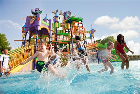 Counts Splash Castle - Sesame Place in Langhorne, PA
