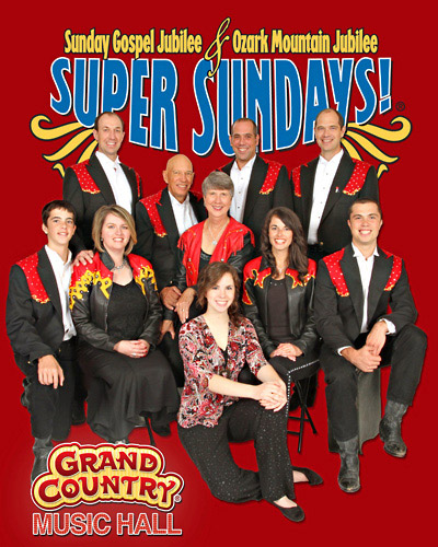 Sunday Gospel Jubilee in Branson, Missouri