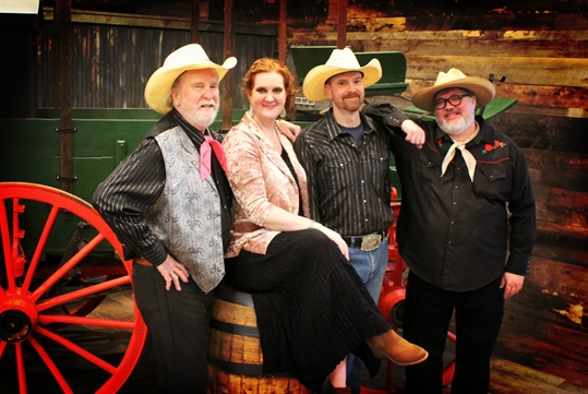 Chuckwagon Dinner Show at Shepherd of the Hills - Cast