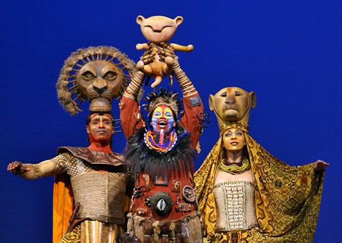 The Lion King in New York, New York