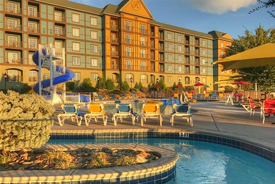 Outdoor Pool - The Resort At Governor's Crossing in Sevierville, Tennessee