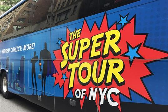 The Superhero Tour of NYC in New York, NY