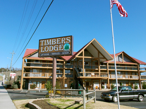 Timbers Lodge in Pigeon Forge, Tennessee
