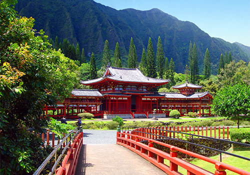 Byodo-in Temple -Ultimate Circle Island Eco-Adventure in Honolulu, Hawaii