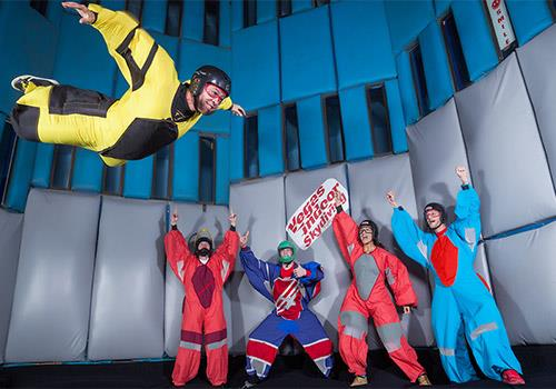 "Did you know that ""bodyflight"" is actually a sport?  - Vegas Indoor Skydiving in Las Vegas, NV"