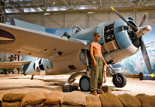 Grumman F4F-3 Wildcat (fighter)