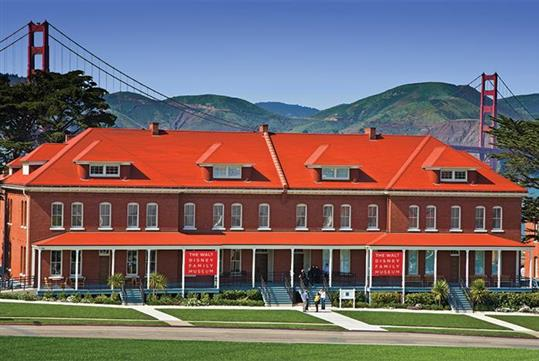 Walt Disney Family Museum in Presidio - San Francisco, CA