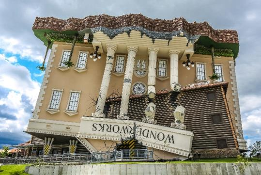 WonderWorks in Branson, Missouri