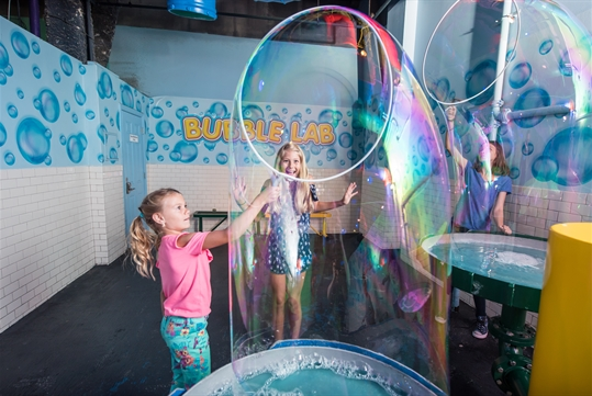Bubble Lab - WonderWorks in Branson, Missouri
