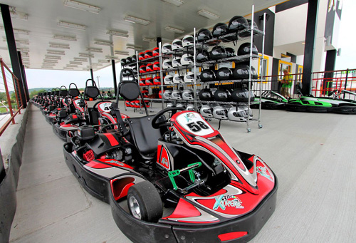 Ready! Set! Go! Xtreme Racing Center