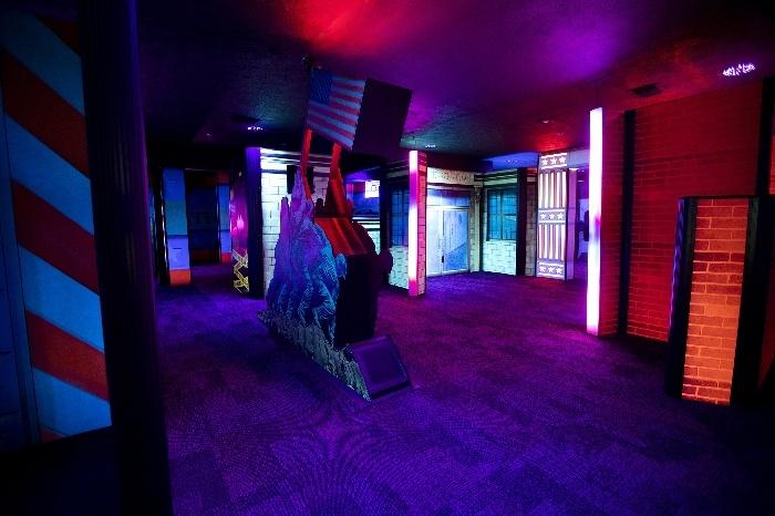 Ripley S Super Fun Zone Laser Tag Outdoor Maze Branson Tripster