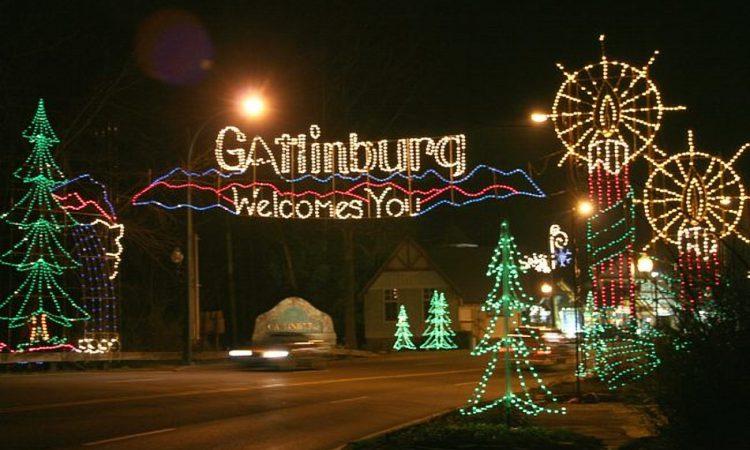 Gatlinburg Winterfest Trolley Tour of LIghts