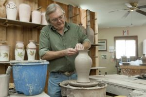 Pottery making at Great Smoky Arts & Crafts Community Photo Credit: Gatlinburg CVB