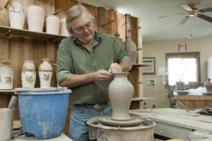 Pottery making at Great Smoky Arts & Crafts Community Photo Credit: Gatlinburg CVB
