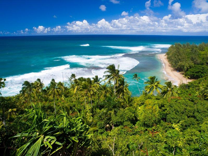 Kee Beach Kauai activities