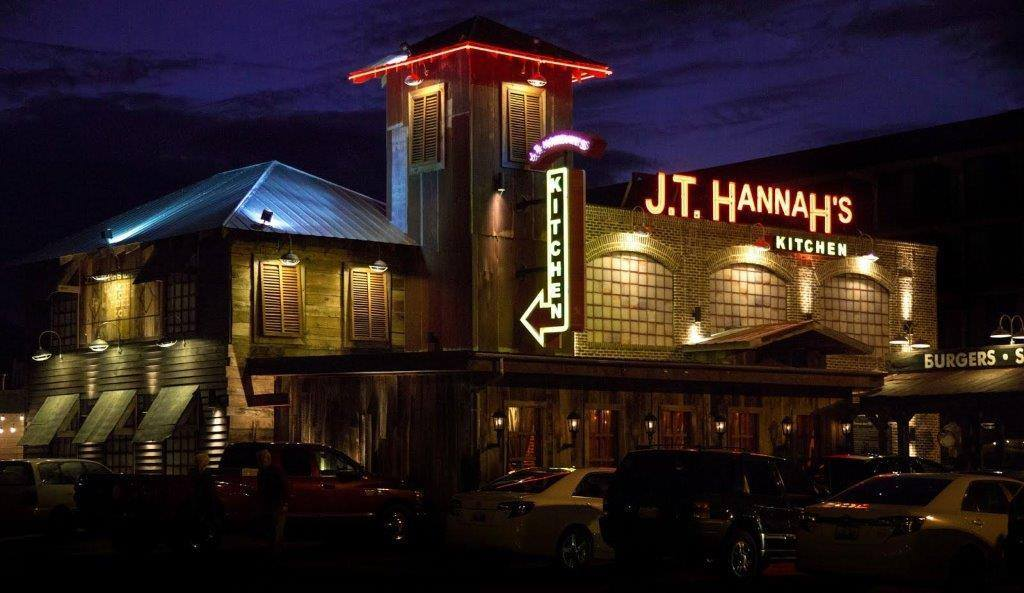 It's easy to see why J.T. Hannah's is known as one of the top places to eat in Pigeon Forge.