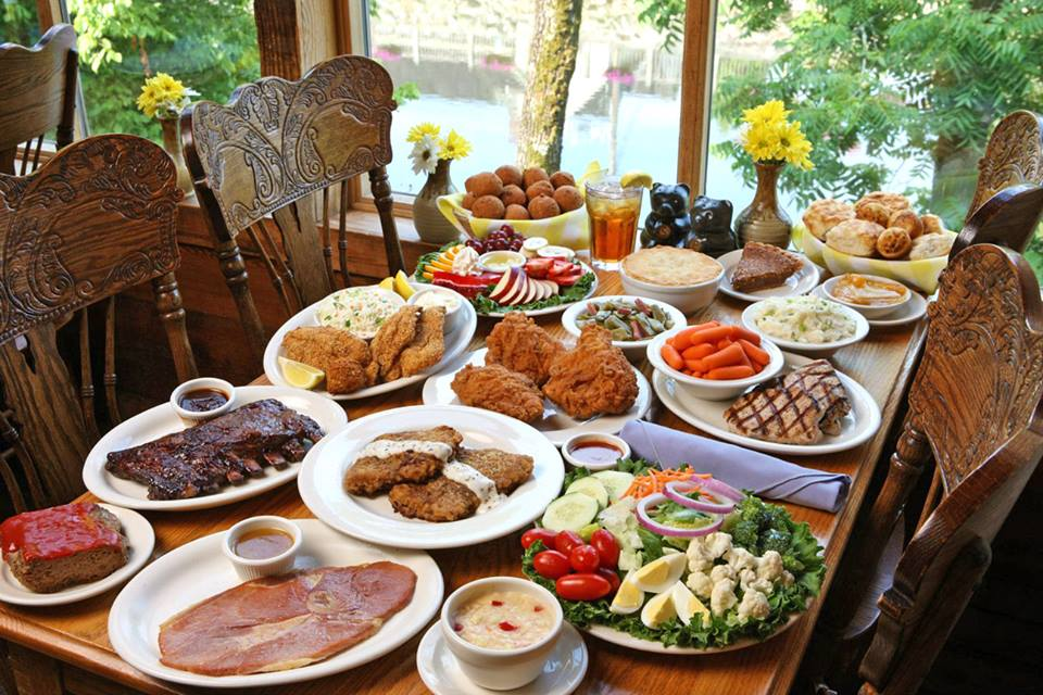 Image result for the old mill restaurant pigeon forge thanksgiving food