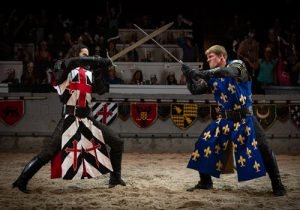 Medieval Times and Dinner Tournament is an excellent thing to do in Myrtle Beach with kids