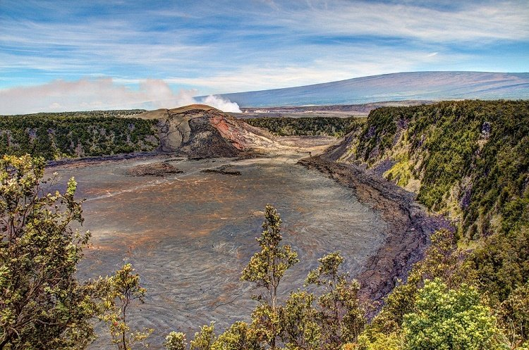 Big Island Scenic Hikes include the Kilauea Iki trail.