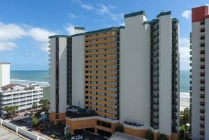 The Patricia Grand Resort is among the top beachfront Myrtle Beach resorts
