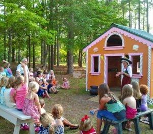 Kids love visiting Brookgreen Gardens