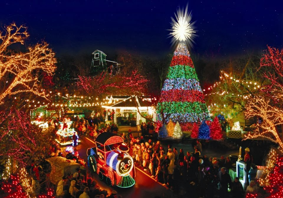 Rudolph's Holly Jolly Christmas Parade lights up Silver Dollar City