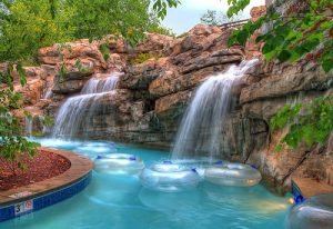 The RiverStone Resort & Spa also has a lazy river