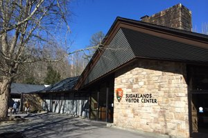 Sugarlands-Visitor-Center Free Things To Do in Pigeon Forge Tennessee