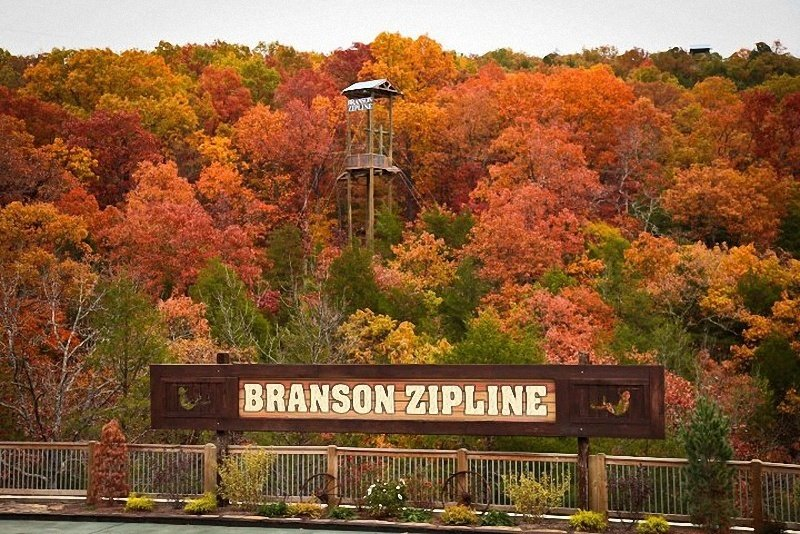 Zipline in Branson for a thrilling outdoor experience