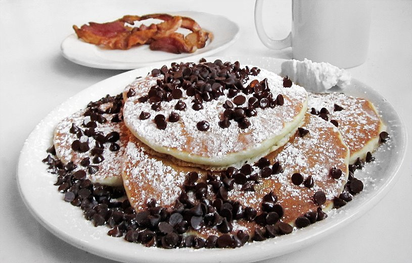 Chocolate Chip Pancakes at the Pancake PantryPhoto Credit: Pancake Pantry/Facebook