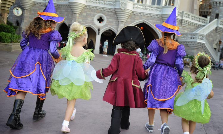 Orlando theme park halloween celebrations